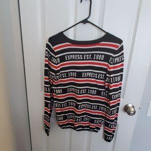 Express Logo sweater